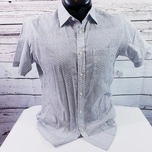 14th & Union Men's Button Front Shirt M
